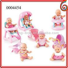 2013 shantou chenghai cheap plastic mini baby dolls french dolls 6 inch dolls