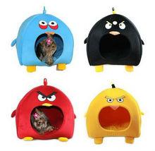 4 Colors Cute Bird Dog/Cat/Pet Beds Tent House