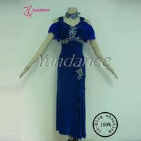 M-12 Peacock Sequins Evening Dress/Vestidos De Noche