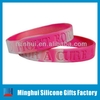 Fight for A Cure Breast Cancer Awareness Silicone Bracelet