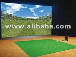 X-swing(R) Golf simulator