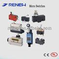 Microinterruptor/Sensor final de carrera/Interruptor biestable/diferentes tipos de interruptores