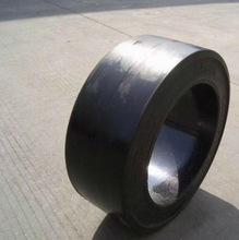 12x4 1/8x10 cured-on solid tyre,aseerding dispath trolley tyre,forklift tyre
