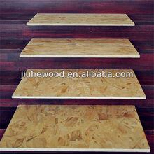 WBP glue 8mm OSB board density wood chipboard