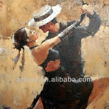 modern new dancing people Oil Painting