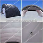 Black & White Inflatable Camping Tent with D Rings Inside