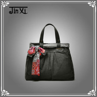 Yiwu top quality durable washed canvas women's handbags