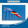 unisign venda quente e personalizada de diferentes tipos de bandeira nacional