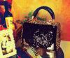 H65 New Leopard sequin baodan shoulder bag Messenger bags handbags factory direct