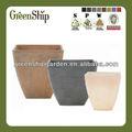 De plástico baratos flor olla/20 años liftetime/ligero/patentado productos/eco- ambiente