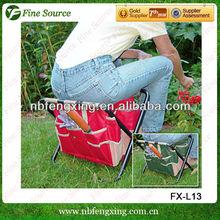 High Quality Folding Garden Tool Bag Chair