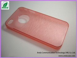 Ultrathin plastic PC handphone cover for iphone 4s 5g
