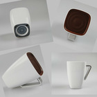 2013 new unique cup shape portable mini speaker with usb charger