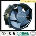 280 mm alta velocidad Industrial 24 v / 48 v DC ventiladores axiales, Extractor 7 palas