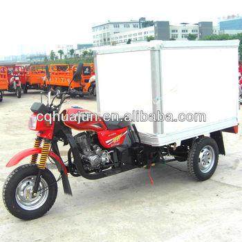 HUJU 200cc china advertising trikes cargo van for sale