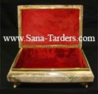 Natural Marble Onyx Craft Designed Onyx Jewelry Box 5X3