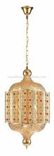 2014 New Arabic Morocco Pendant Lamp of Electrophoresis Gold