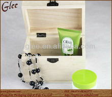 wooden cosmetic timber package box/case