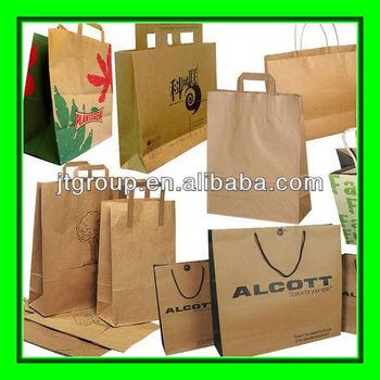 brown paper grocery bag