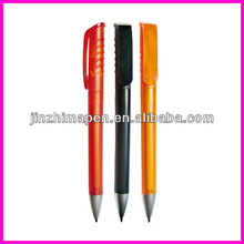 Promotional plastic ball spin pen