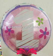 18 inch client logo print mylar balloon