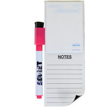 Big Magnetic Note pad with whiteboard marker
