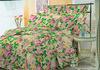 Beautiful Flower Printed Bed Sheet Set