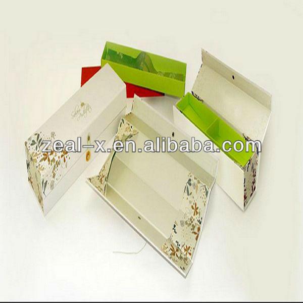 Alimentaire boîtes pliantes pour le mariage, Vacances, Bonbons, Fruits, Biscuit