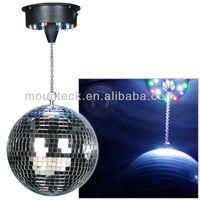Mirror Ball 8''20cm Gifts Gadgets Novelty Disco Party Light Strobe Lamp DJ Toys