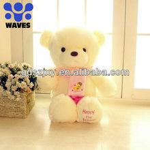20% off venda barata de teddy bear / personalizado stuffed plush toys para os amantes