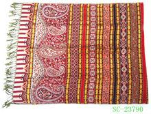 Fashion lady jacquard Weaving Scarf with good quality