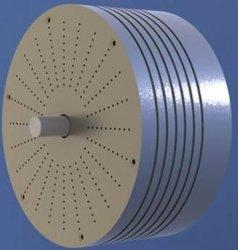 20 kW at 250 RPM Permanent Magnet low speed generator alternator for wind turbine.