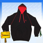 JHDM-608-1 a great fit and style contrast fleecy hoodies