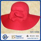 Elegant wool felt floppy hat, 2013 winter lady's best choice, 100% wool felt