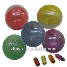 plastic ball capsule clear plastic capsules mini toy vending machine plastic capsule