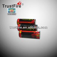 (2pcs)Trustfire 26650 5000mAh 3.7V Rechargeable Li-ion Battery