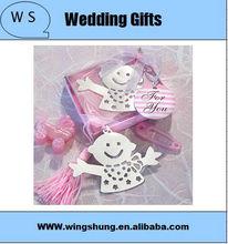 Novelty Desion angle baby Bookmark /Wedding Favor/Wedding Supplies/Wedding Gift /Fashion Gift/Birthday Gift