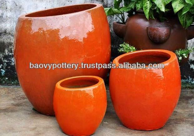 Nouveau design ext rieur pot en c ramique plein air for Pot ceramique exterieur