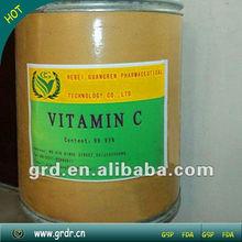 Alta qualidade alimentar grau vitamina c pó 98% poulty para ganho de peso