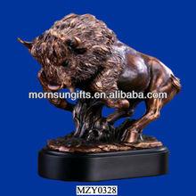 Brand New Customized Buffalo Sculpture Animal Figurines