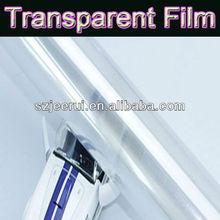 transparent self adhesive vinyl film/car body 3m protective sticker/car body sticker design