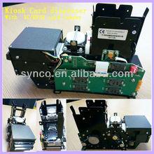 RS232 card dispenser, Mag/IC/RFID card dispense machine