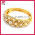Nuevo dubai chapado en oro de la joyería de imágenes de vestidos africana del brazalete del