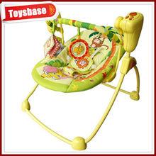 Electric folding baby swing