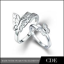 Fashion wholesale couple ring price