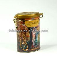 vintage design wholesale tea packaging box,metal tea box