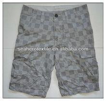man's printed cargo shorts, mens shorts, fashion shorts,
