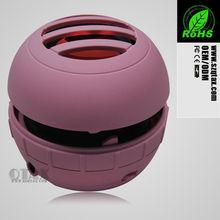Cute and cheap mini sound speaker box/ professional speaker for MP3 format music
