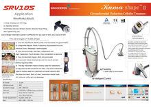 KUMA Shape ii Velashape V8 salon Sincoheren body slimming shaping beauty equipment CE FDA approved weight loss