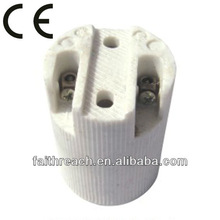 Low price!!!! E14 porcelain electronic lamp holder,electric lamp holder